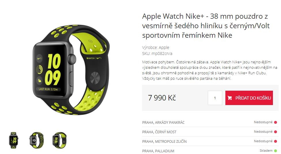 Chytré hodinky Apple Watch Nike+  cea4bea3aa