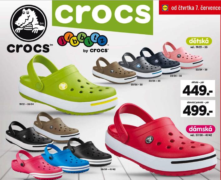 f0f3703361f Výprodej Crocs v Lidlu + tip