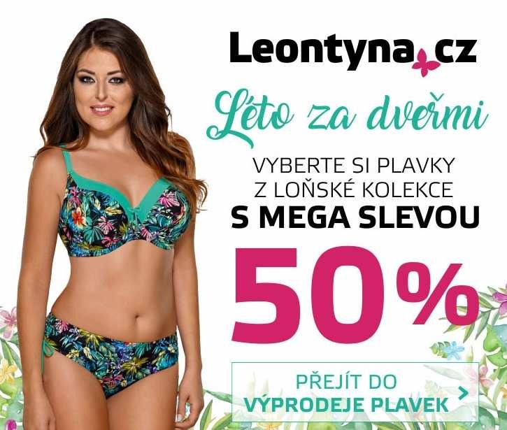 c852c0070 Sleva 50% na plavky ze sezóny 2017 | Leontyna.cz