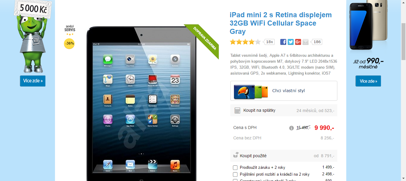 apple ipad mini retina wi fi 3g 32gb tosevyplat. Black Bedroom Furniture Sets. Home Design Ideas