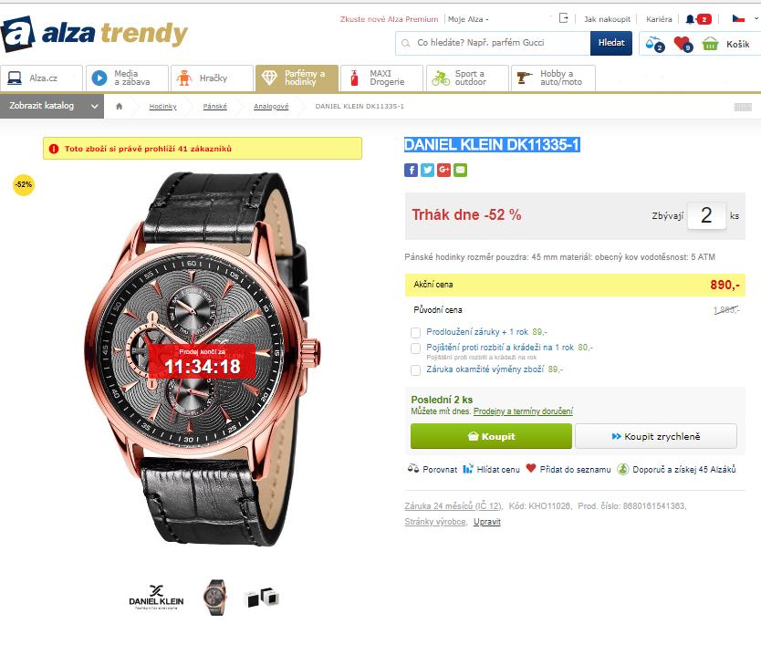 Pánské hodinky Daniel Klein DK11335-1  b09e376f13