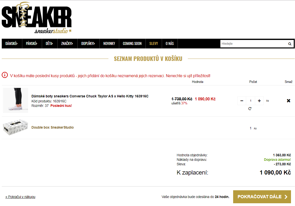 35450a6bb Extra slevový kód -20% na Výprodej | ToSeVyplatí