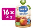 Příkrm Nestlé Jablko Broskev, 16x 90gr   Alza