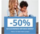 Extra sleva 50% na dětské zboží   Takko