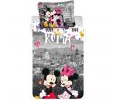 Povlečení Mickey Mouse a Minnie, bavlna   Alza