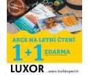 Luxor - 1+1 zdarma na letní paperbacky   Luxor