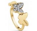 Pozlacený prsten GUESS UBR78004   Alza