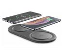 Duální bezdrátová nabíječka Qi CellularLine  | Datart