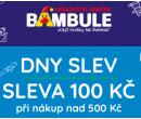 Bambule - sleva 100 Kč z nákupu nad 500 | Bambule