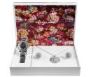 Dárková sada hodinek, náhrdelníku a náušnic   Alza