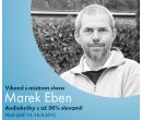 Sleva 50% na audioknihy namluvené Markem Ebenem | Audioteka
