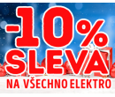 Sleva 10% na vše v Planeo Electro | Planeo