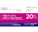 -20% na všechny lety WizzAir | Wizz Air