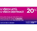 20% sleva na všechny letenky | Wizz Air