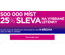 Sleva 25% na všechny letenky | Wizz Air