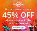 Sleva 45% na všechny průvodce Lonely Planet | LonelyPlanet.com