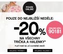Sleva 20% na trička a halenky | Orsay