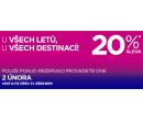 Sleva 20% na všechny lety (pro všechny) | Wizz Air