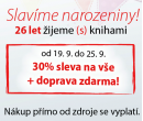 Sleva 30% + doprava zdarma na knihy | Jota.cz