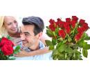 3 čerstvé červené růže Red Calypso (50 cm) | Slevomat