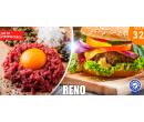 300g hovězí maxi burger  s hranolkami | Hyperslevy