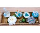 Vánoční cupcaky 6 ks v krabičce   Slevomat