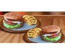 2× 250g hovězí burger + hranolky | Slevomat