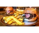 2 × 250g hovězí burger + hranolky | Slevomat
