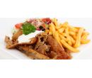 Kebab talíř s hranolky a nápojem | Slevomat