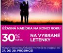 Sleva 30% na vybrané letenky | Wizz Air