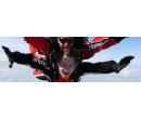 Tandemový seskok padákem z výšky až 4 200 metrů   Sleva Dne