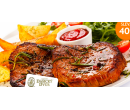 2x 250g steak z krkovičky  | Hyperslevy