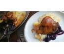 Domácí paštika + kachna se zelím a knedlíky | Slevomat