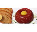 Hovězí tatarák s porcí topinek | Slevomat