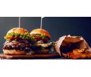 BBQ Angus burger + steakové hranolky    Slevomat
