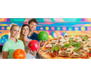 1 hodina bowlingu + pizza   Slevomat