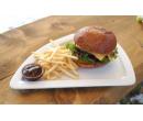 BBQ Burger 150g,hranolky,salátek coleslaw | PribramskeSlevy