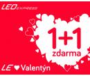 1+1 zdarma na jízdenky | Leo Express