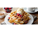 Káva a dezert nebo belgické vafle pro 2 | Slevomat