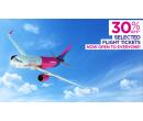 Sleva 30% na vybrané lety | Wizz Air