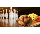 1 kg marinovaných BBQ wings + Hodina bowlingu | Slevomat