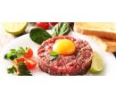 200gramový tatarský biftek a topinky | Slevomat