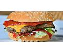 Dva výtečné XXL burgery s hranolky | Slevomat
