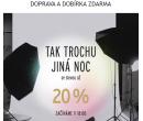 Tchibo noční nákupy se slevou až 20% | Tchibo