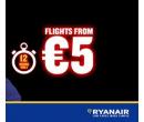 Letenky u Ryanair od 5 EUR (jedna cesta) | Ryan Air