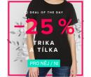 Sleva 25% na značková trička a tílka | Bibloo.cz