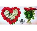 7 rudých růží dlouhých 60 až 70 cm | Slevomat