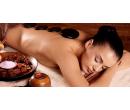 Masáž zad se zábalem a masáž s lávovými kameny | Slevomat