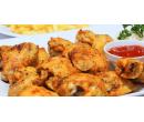 1 kg kuřecích křídel s přílohou a omáčkou | Slevomat