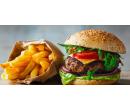 Hráškový krém, Koliba burger a palačinky  | Slevomat